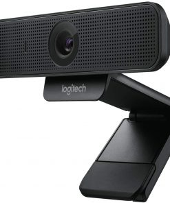 Logitech C925-e Webcam with HD Video and Built-In Stereo Microphones – Black
